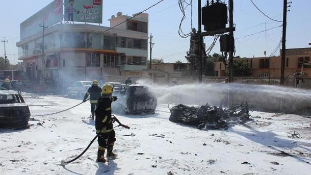 В иракском Мосуле в результате двух терактов смертников погибли 8 человек
