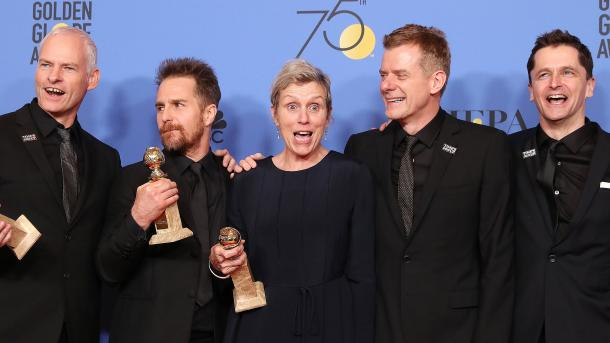 "Film ""Three Billboards Outside Ebbing, Missouri"" dobitnik Zlatnog globusa(VIDEO)"
