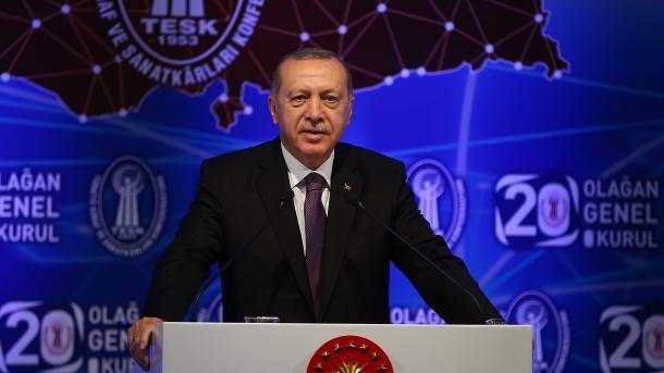 Erdogan: Gjendja e ekonomisë turke nuk është krizë, por manipulim | TRT  Shqip
