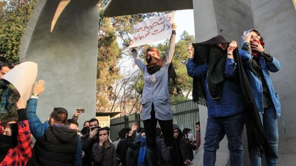 Të paktën 12 të vdekur gjatë protestave antiqeveritare në Iran   TRT  Shqip