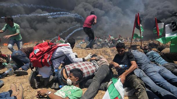 Izraeli ndërhyn ndaj protestueve palestinezë | TRT  Shqip