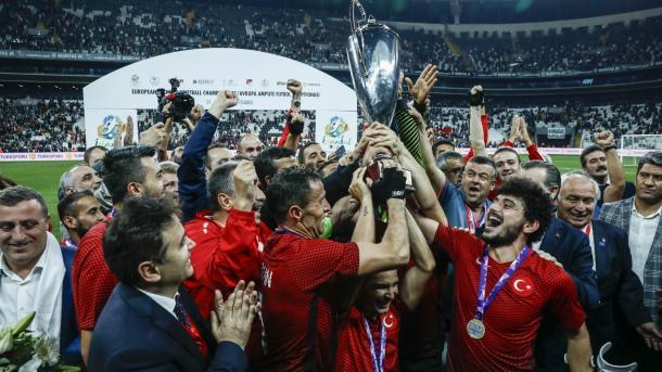 欧足联高度赞扬承办截肢者足球比赛的土耳其 | 三昻体育官网