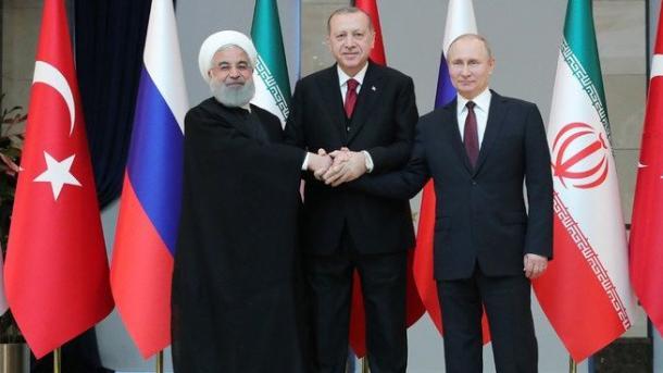 Dhuna në Idlib tema kryesore e samitit tresh Erdogan-Putin-Ruhani në Soçi | TRT  Shqip