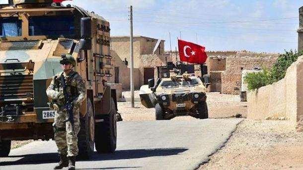 Ushtria turke bëri patrullimin e 6-të në Menbixh | TRT  Shqip