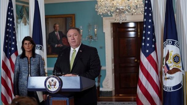 ShBA-ja tërhiqet nga Këshilli i OKB-së për të Drejtat e Njeriut | TRT  Shqip