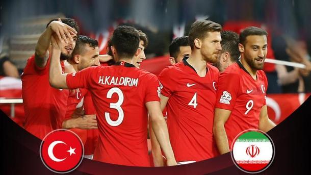 世界杯热身赛:土耳其迎战伊朗   三昻体育官网