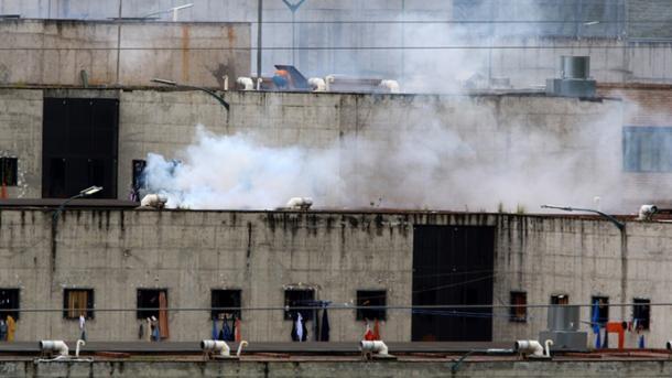 Vurugu katika magereza Ecuador