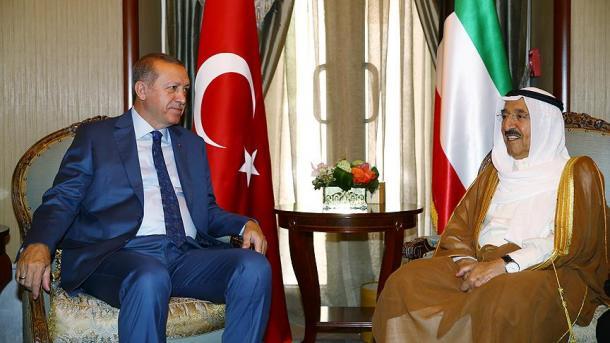 Vizita e Erdoanit në Kuvajt bën bujë të madhe në median e vendit   TRT  Shqip