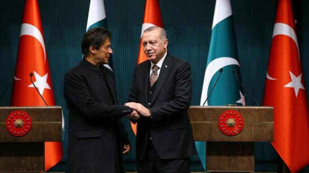 Kryeministi i Pakistanit informon Presidentin Erdogan për zhvillimet e fundit   TRT  Shqip