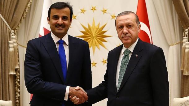 الأمير القطري يزور تركيا   TRT  Arabic