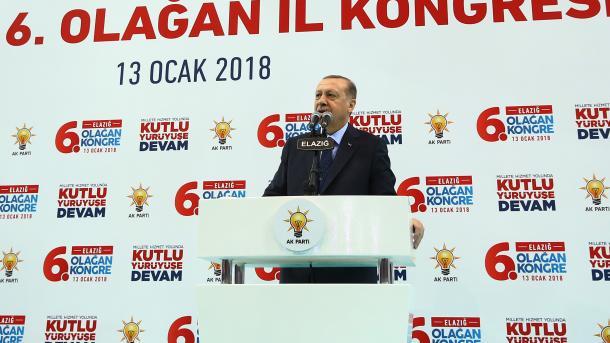 Erdoğan kündigt Operation in Afrin an