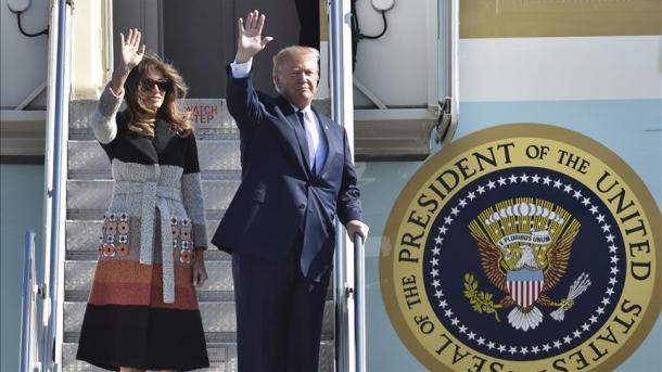 Trump richtet zum Auftakt seiner Asien-Reise deutliche Warnung an Nordkorea