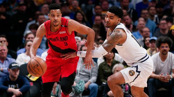 美国NBA波兰特开拓者97比90击败掘金队 | 三昻体育