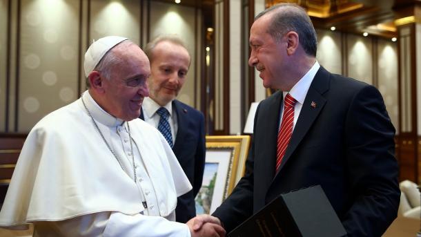 El Papa recibe al presidente turco; tratan crisis de Jerusalén 06/Feb/2018 Internacional