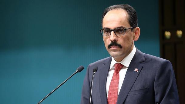 Kalin: Tërhiqet autokolona me njësitë ushtarake në mbështetje të regjimit të Esadit   TRT  Shqip