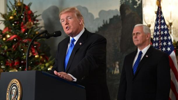 Trump njoftoi njohjen e Jerusalemit si kryeqytet i Izraelit | TRT  Shqip