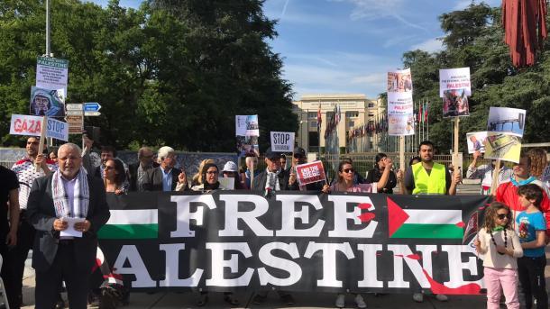 Stotine građana protestovalo u Ženevi: Podrška Palestincima, bojkot Izraela