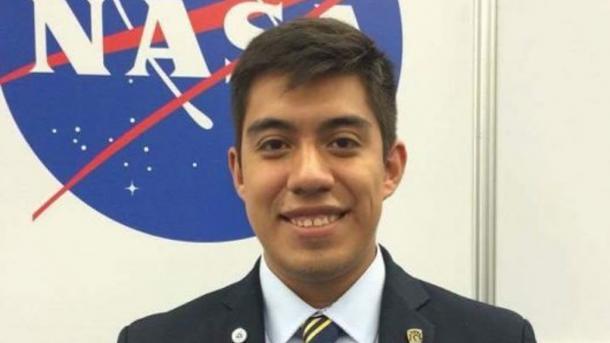 Alumno de la UNAM, mexicano más joven en ingresar a la NASA