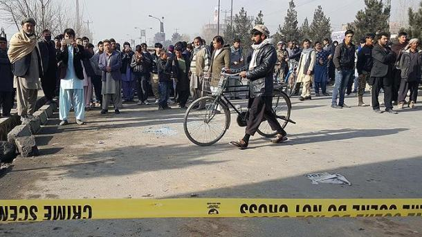 IS reklamiert Selbstmordanschlag in Kabul für sich