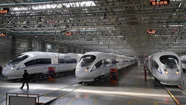 Китайцы выпустят высокоскоростной поезд намагнитной подушке