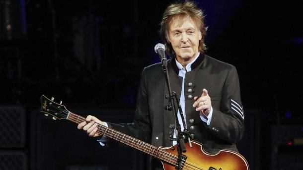Sir Paul McCartney sigue triunfando en la música