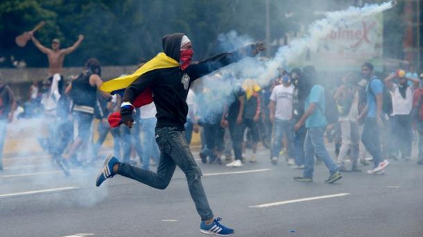 La violencia es del Gobierno, aunque pretendan decir que no — Borges