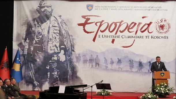 Shqipëri – Përkujtohet 20-vjetori i Epopesë së UÇK-së dhe i emblemës Adem Jashari | TRT  Shqip