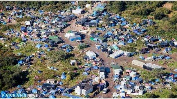 Встолице франции милиция приступила кэвакуации стихийного лагеря мигрантов