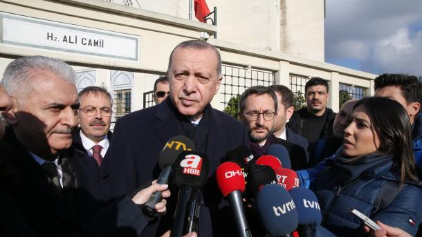 Erdogan: Regjimi sirian bën 'operacion psikologjik' në Menbixh   TRT  Shqip