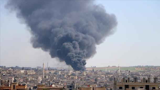 Sulme ajrore ndaj civilëve në zonën e çtensionimit në Siri   TRT  Shqip
