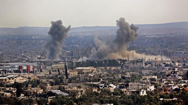 Shpërthime të njëpasnjëshme në Damask   TRT  Shqip