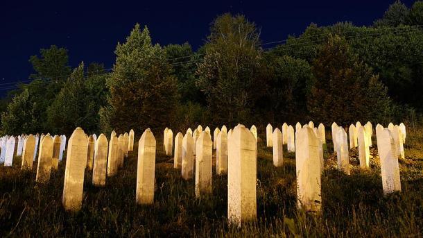 Gedenken an Srebrenica-Massaker