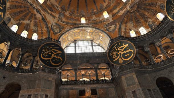 Türkei weist griechische Kritik an Sendung aus Hagia Sophia zurück