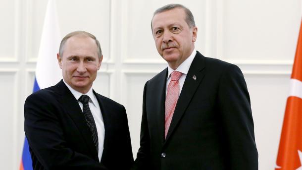 Путин прибыл вТурцию напереговоры сЭрдоганом