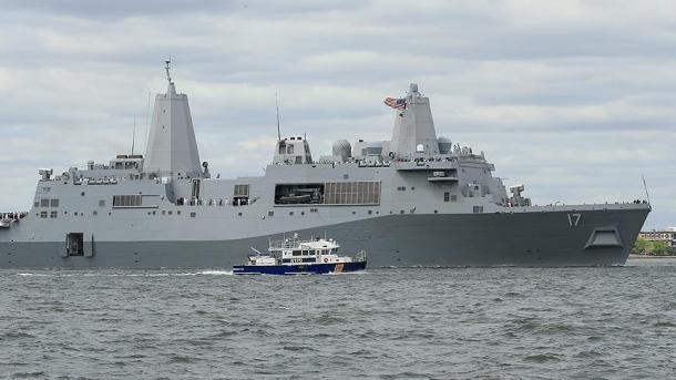 アメリカ、黒海に戦艦を配置する...