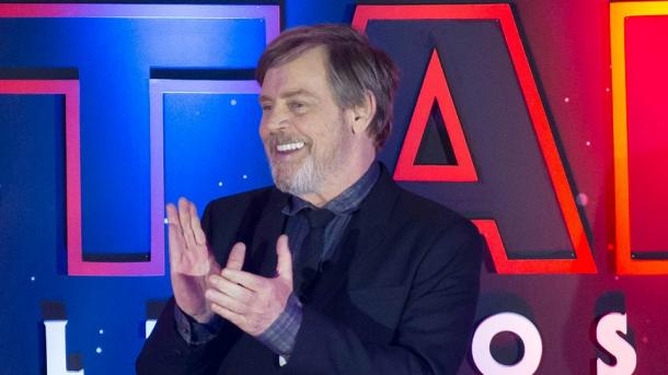 "Mark Hamill, aktori i ""Star Wars"" me yll në Walk of Fame"