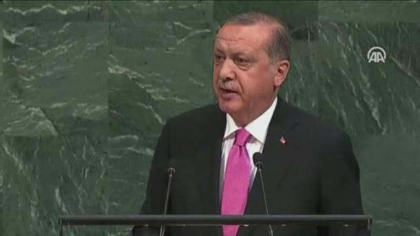 Presidenti Erdogan i drejtohet me një fjalim asamblesë së përgjithshme të OKB-së   TRT  Shqip