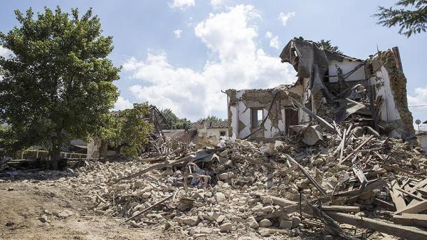 ВИталии случилось сильное землетрясение