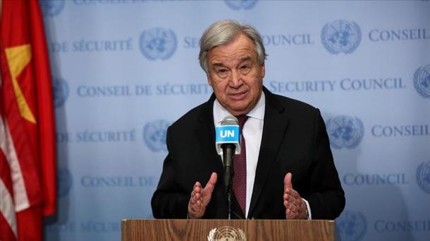 ONU pide un alto el fuego mundial por el coronavirus