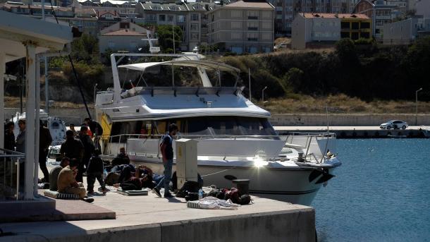 Turska obalska straža privela 134 emigranta u pokušaju da otplove u Italiju