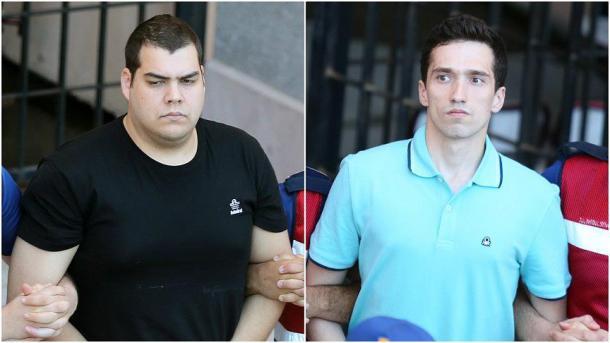 Griechische Soldaten aus der U-Haft entlassen