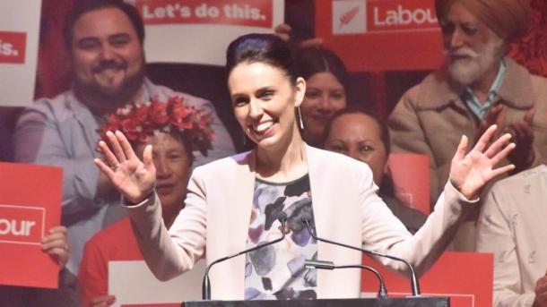 Labour-Chefin Jacinda Ardern wird neue Premierministerin von Neuseeland