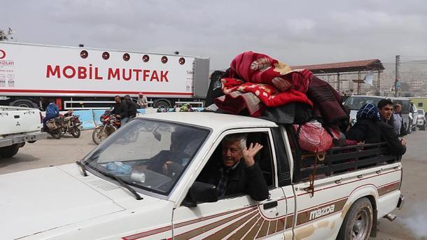 Vazhdon mobilizimi i organizatave humanitare turke për Afrinin | TRT  Shqip