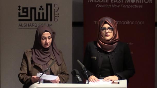 E fejuara e Khashoggit: Përgjegjës për vrasjen e Jamal Khashoggit është udhëheqja saudite   TRT  Shqip
