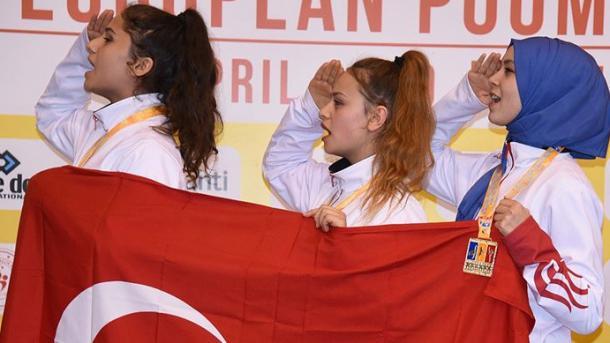 土耳其健将夺得跆拳道表演锦标赛冠军 | 三昻体育官网