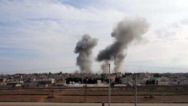 Shpërthim në Menbixh të Sirisë, plagosen shumë ushtarë amerikanë | TRT  Shqip
