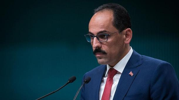 Kalin: Nuk tolerojmë krijimin e çfarëdolloj strukture me bazë terroriste në kufirin tonë   TRT  Shqip