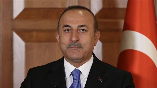 Çavusoglu: Franca duhet të rishikojë qëndrimin ndaj PYD/YPG   TRT  Shqip