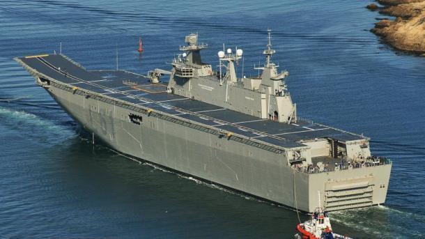 Afrohet me 1 vit dorëzimi i anijes ushtarake më të madhe të Turqisë | TRT  Shqip