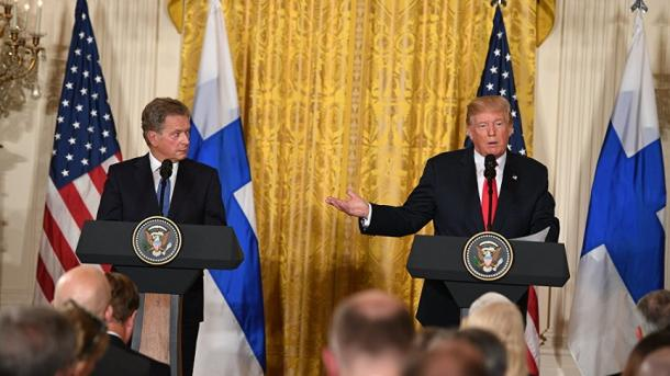 Trump në Helsinki: NATO-ja nuk ka qenë kurrë kaq e fortë sa sot | TRT  Shqip